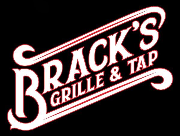 Bracks logo black background